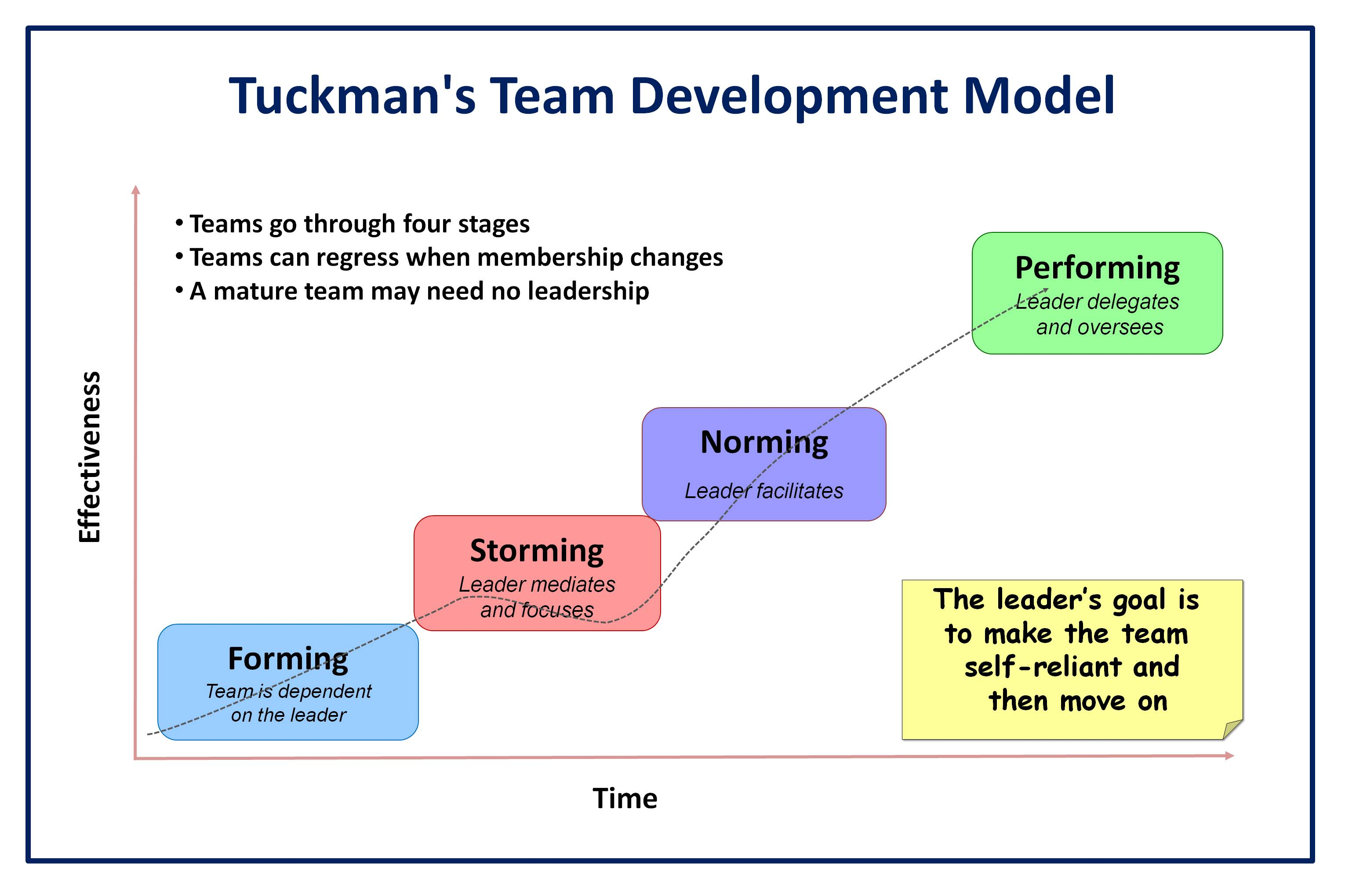 team model essay Team leadership model a lack of leadership is often seen as a roadblock to a team's performance as stewart and manz (1995, p748) write, more specifically, work team management or supervision is often identified as a primary reason why self-management teams fail to properly develop and yield improvements in productivity, quality, and quality of life for american workers.